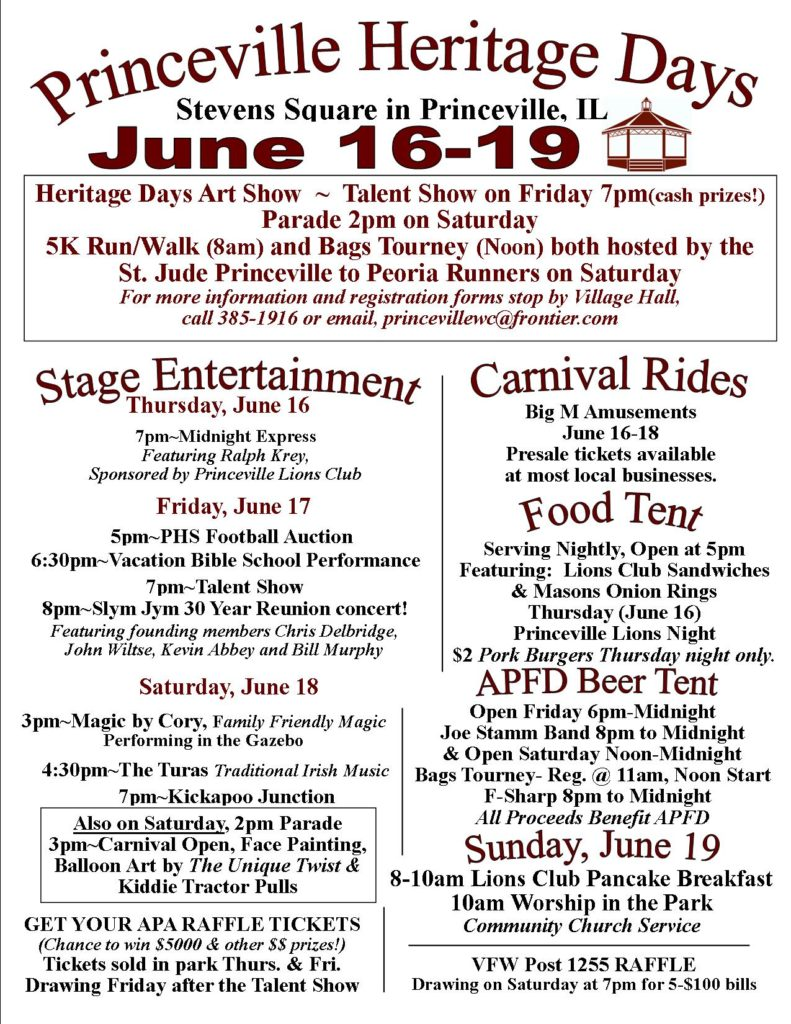 Heritage Days 2016 June 7 AD